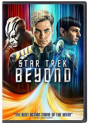 Star Trek Beyond  Dvd  New   Sealed Ships Within 1 Business Day W Tracking