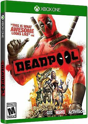 Deadpool [Microsoft Xbox One Marvel Activision Action Beat em Up Adventure] NEW
