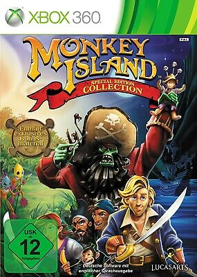 Microsoft Xbox 360 Spiel - Monkey Island #Special Edition Collection mit
