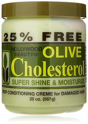 [HOLLYWOOD BEAUTY] OLIVE CHOLESTEROL DEEP CONDITIONING CREME -