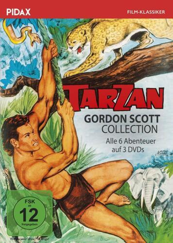 Tarzan - Gordon Scott Collection * DVD Tarzan-Abenteuer Pidax