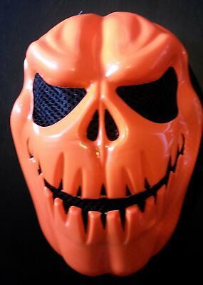 Kürbis- Horror - Maske - Fasching Halloween Party Kostüm Karneval Theater