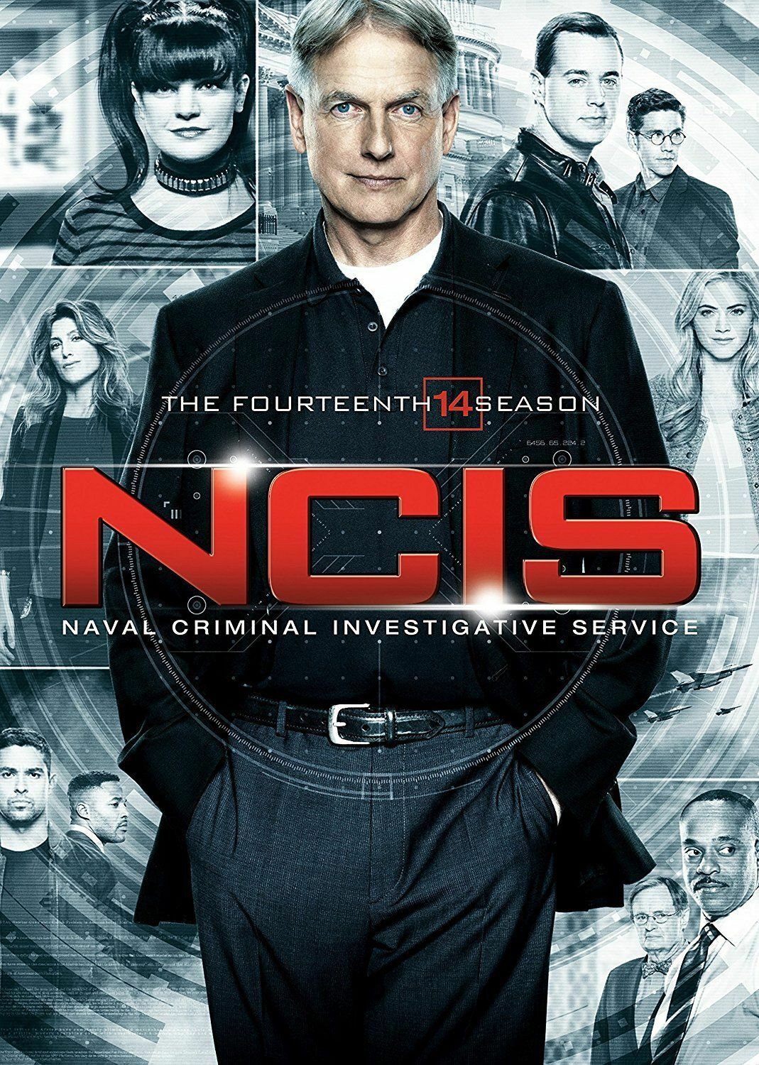 NCIS: The Fourteenth Season 14 (DVD, 2017, 6-Disc Set) - Brand New