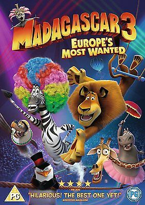 Madagascar 3 Europes Most Wanted DVD Disc Only