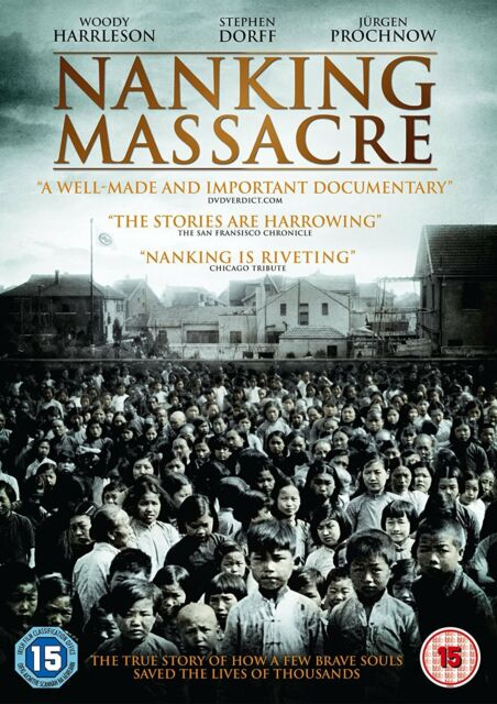 Nanking Massacre (DVD) (NEW AND SEALED)
