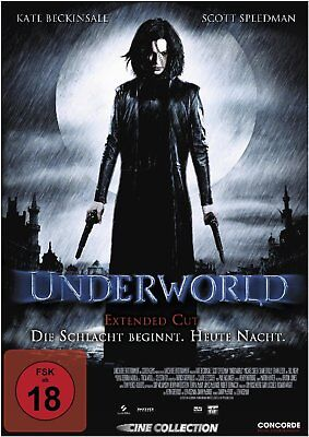 Underworld von Len Wiseman mit Kate Beckinsale, Scott Speedman, Michael Sheen,