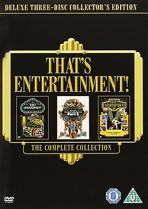 THAT'S ENTERTAINMENT   DELUXE COLLECTOR'S DVD  MGM MUSICALS  BRAND NEW