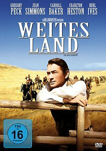 ANCHA-PA-S-Charlton-Heston-GREGORY-PECK-Jean-Simmons-DVD-nuevo-THE-BIG-COUNTRY