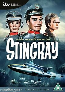 Stingray-The-Complete-TV-Series-Box-Set-Collection-New-Sealed-DVD