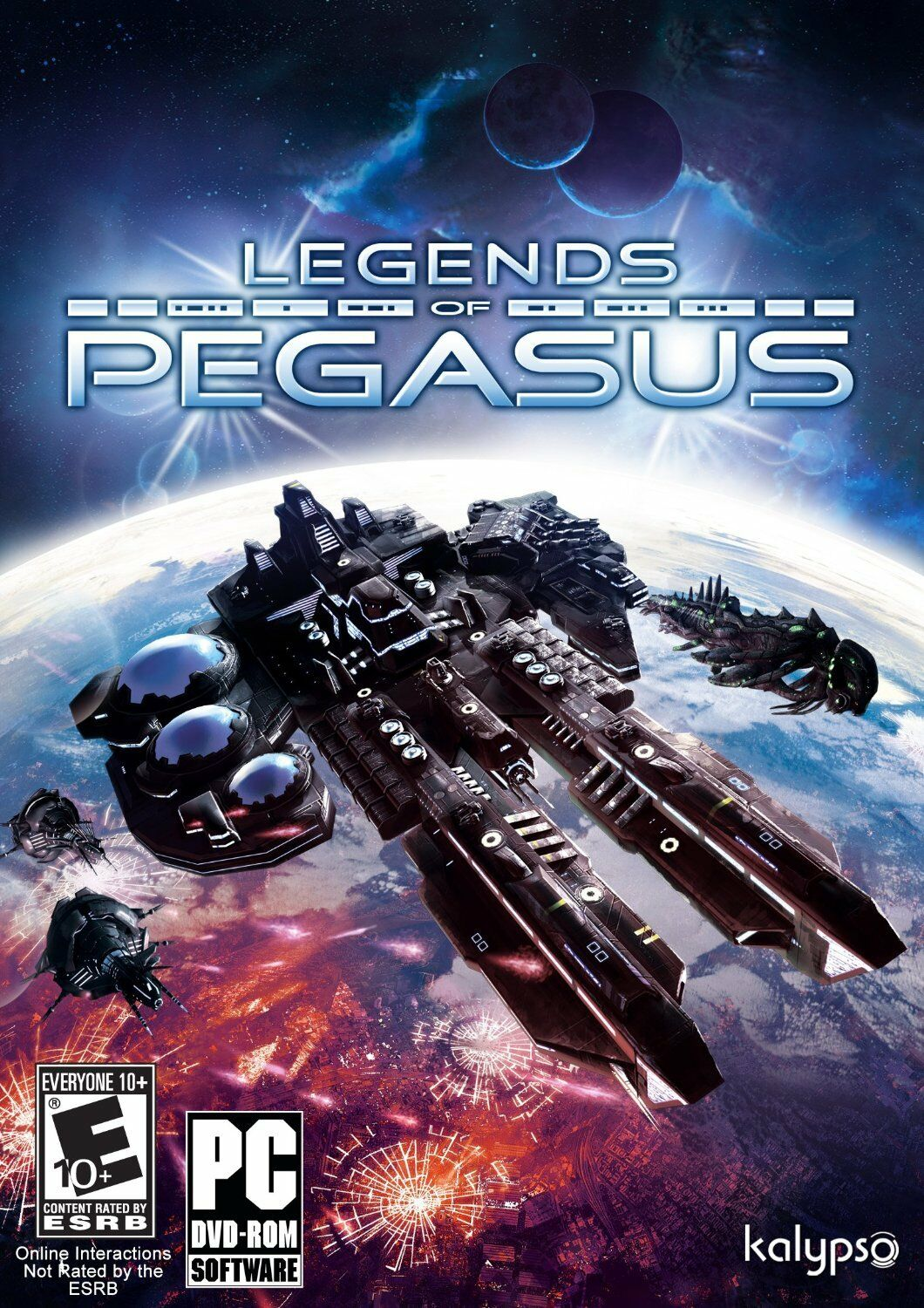 Computer Games - Legends of Pegasus PC Games Windows 10 8 7 XP Computer strategy space sim 4x NEW