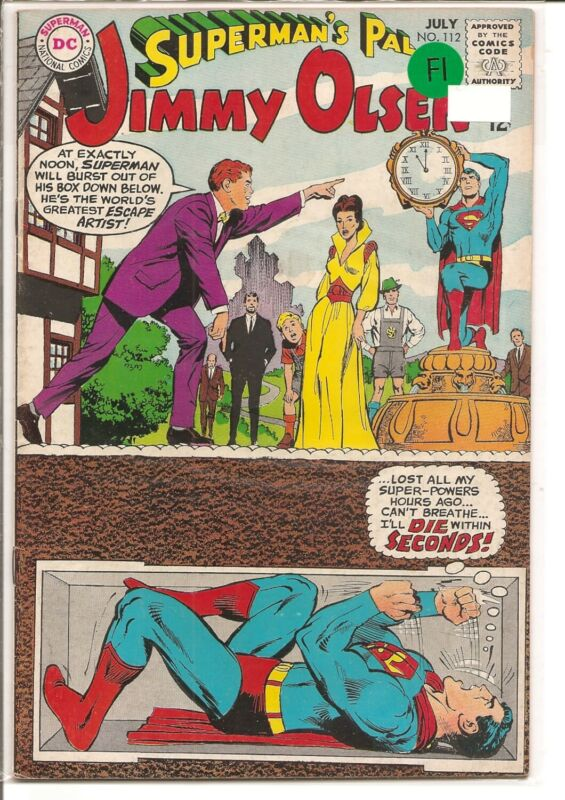 SUPERMANS PAL JIMMY OLSEN #112