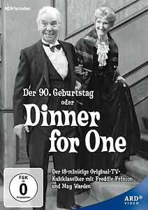 DINNER FOR ONE (1963 Freddie Frinton) -   DVD - PAL Region 2 - New