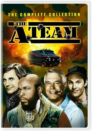 - THE A-TEAM COMPLETE COLLECTION Complete Series Seasons 1-5 BOX SET