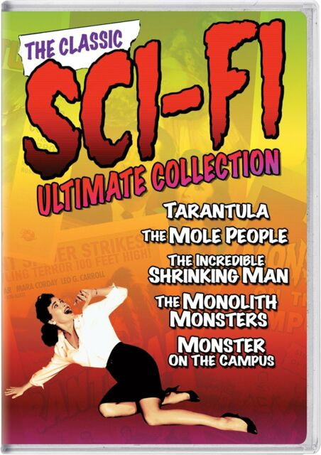 THE CLASSIC SCI FI ULTIMATE COLLECTION (5 movies)  (DVD)REGION  1