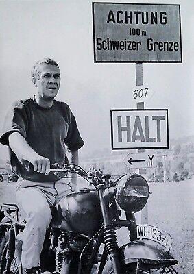 Steve McQueen: Gesprengte Ketten, Great Escape   US Import Filmposter 59 x 84 cm