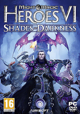 Might & and Magic Heroes VI 6 Shades of Darkness PC Brand New Factory