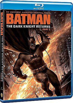 Batman  The Dark Knight Returns  Part 2  Blu Ray  Region Free   New Sealed