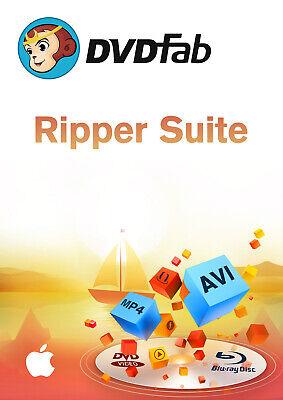 DVDFab Ripper Suite MAC (DVD + Blu-ray Ripper) -dt. Vollversion Download !