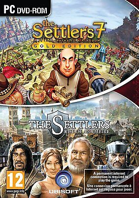 The Settlers 7 Paths to a Kingdom Gold Edition with Rise of an Empire PC and