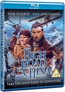 High Road to China (Blu-ray, 1983, Region Free) *BRAND NEW/SEALED*