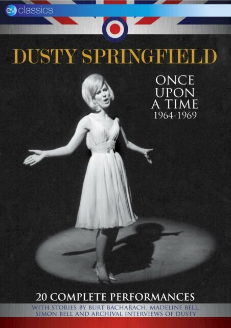 DUSTY SPRINGFIELD - ONCE UPON A TIME 1964-1969  DVD NEU