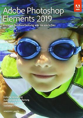 Adobe Photoshop Elements 2019 1 PC | oder Mac Vollversion Download DE EU Adobe Photoshop Elements