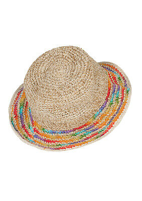 New Rainbow Hemp Wire Rim Festival Hippie Hat Rainbow Rim