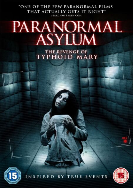 Paranormal Asylum (DVD) (NEW AND SEALED)