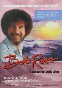 BOB ROSS JOY OF PAINTING SERIES: SEASCAPE COLLECTION (3 disc)- DVD - Region Free