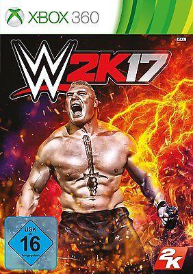 Microsoft XBOX 360 Spiel ***** WWE 2K17 * 2017 17 ***********************NEU*NEW