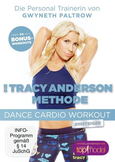 TRACY ANDERSON - DANCE CARDIO EINSTEIGER   DVD NEU