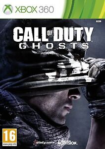 New Call of Duty Ghosts Xbox 360 COD UK PAL FPS Game Free UK 1st P&P