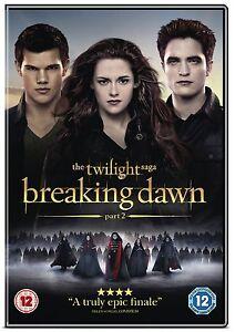 The Twilight Saga: Breaking Dawn - Part 2 DVD (New/Sealed)