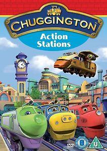 New Chuggington Action Stations DVD Kids Animated Series Region