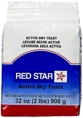 Red Star Active Dry Yeast 32 Oz   2 Lb   12 Lbs Expedited Shipping