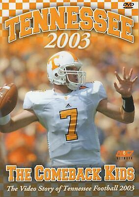 DVD: Tennessee Volunteers 2003 - The Comeback Kids - NCAA SEC College Football