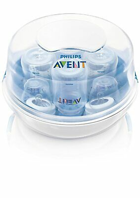 Philips AVENT SCF281/05 Microwave Steam Sterilizer for Baby Bottles New w/o Box