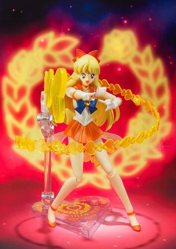 NEW S.H. Figuarts Super Sailor Venus Premium Bandai from Japan NEW
