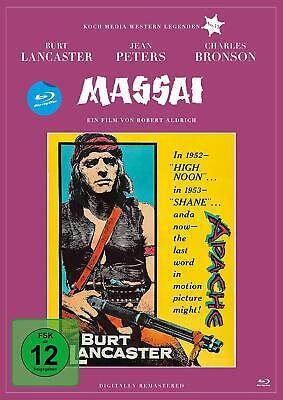 Massai - Der große Apache [Blu-ray/NEU/OVP] Burt Lancaster im Ein-Mann-Krieg geg