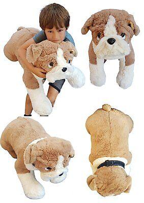 Deluxe Paws Extra Large British Bulldog Plush Soft Toy 65cm