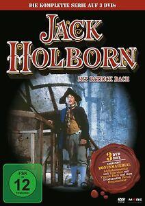 3 DVDs * JACK HOLBORN - KOMPLETTE SERIE - PATRICK BACH # NEU OVP !