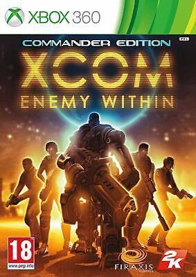 XCOM Enemy Within Commander Edition Game Microsoft Xbox 360 PAL Brand New