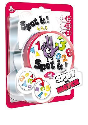 Spot It Games (Spot It! 1,2,3 Number Family Card Game Asmodee Zygomatic Matching Party Blister)