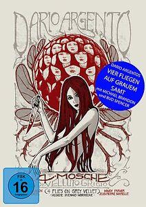 Vier Fliegen auf grauem Samt - UNCUT - (Dario Argento) - Mediabook - Blu Ray+DVD