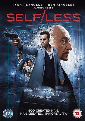 Self/Less [ NEW UK DVD R2 PAL, 2015] Ryan Reynolds, Ben Kingsley, Matthew Goode