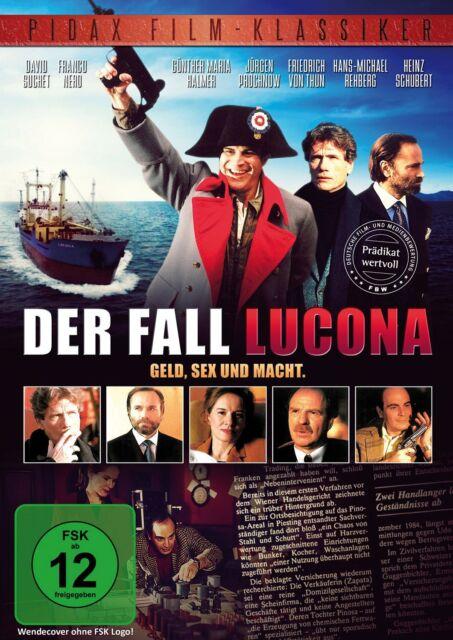 """Der Fall Lucona * DVD Thriller mit David """"Poirot"""" Suchet Pidax Film Neu Ovp"""