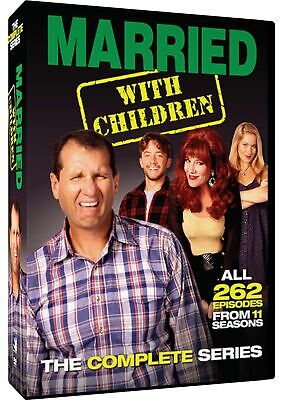 Married with Children: The Complete Series (DVD, 2015, 21-Disc Set) BRAND NEW