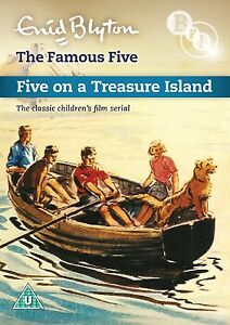 Enid Blyton's The Famous Five: Five On Treasure Island - DVD NEW & SEALED