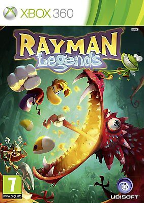 Rayman Legends Xbox 360 Brand New Factory Sealed Fast Shipping