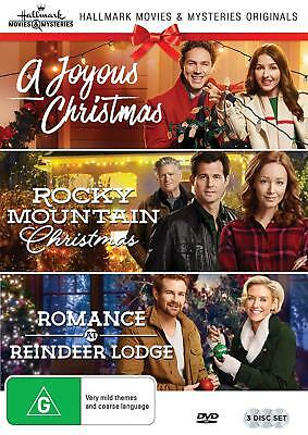 A JOYOUS CHRISTMAS + ROCKY MOUNTAIN CHRISTMAS + ROMANCE AT REINDEER LODGE (R1)